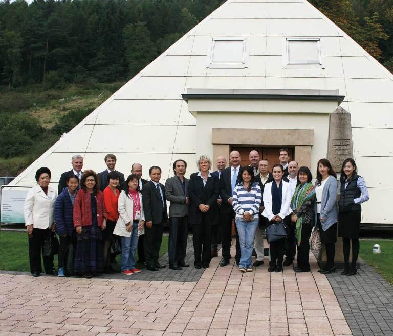 Besuch aus Asien
